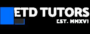 ETD Tutors Logo